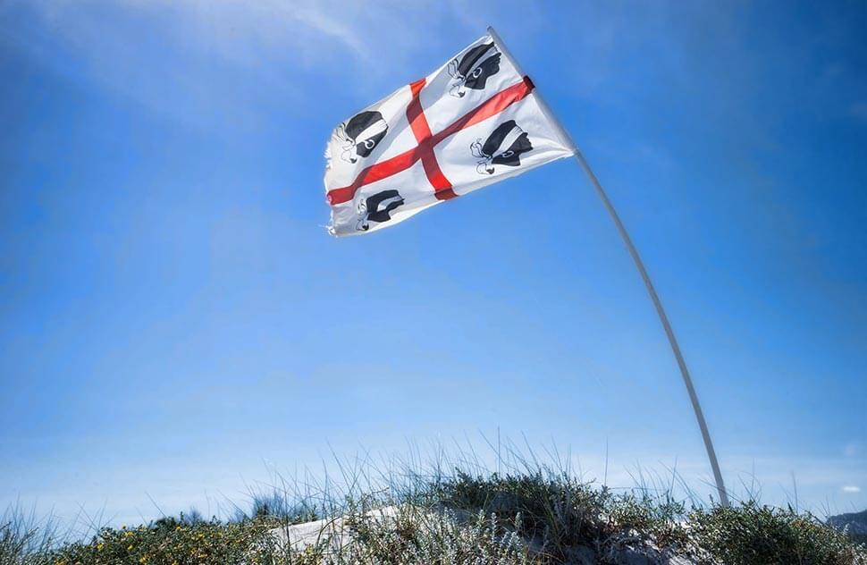 flagge sardinien