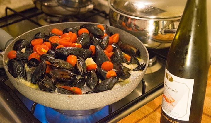 Sardinien – Cozze aus Olbia