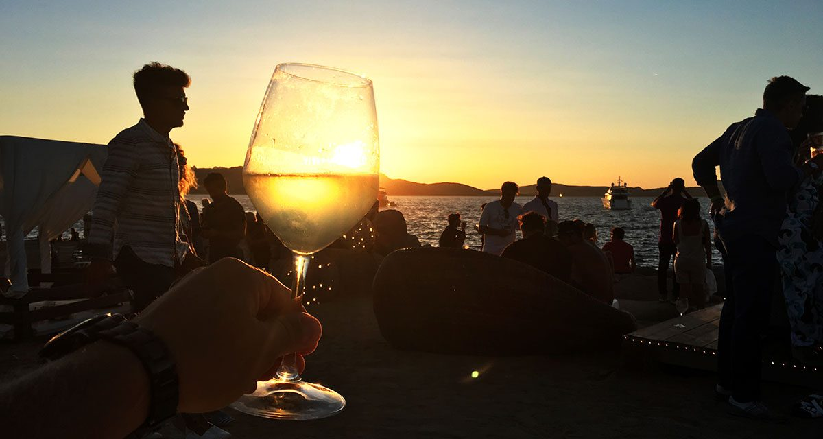 Sardinien – Sundowner am Strand