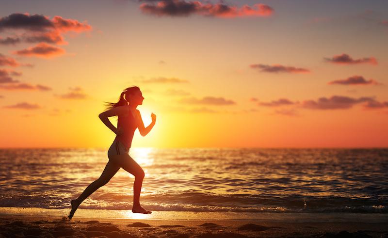 Joggen – im Sonnenuntergang auf Sardinien!